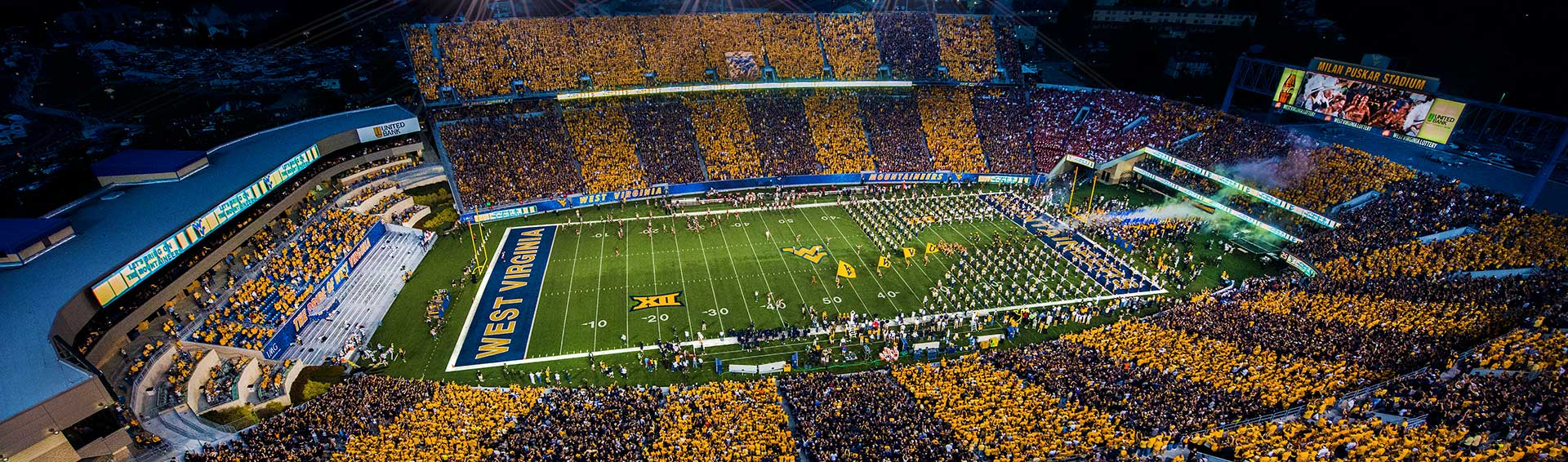 WVU Stripe the Stadium
